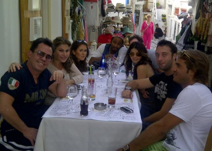 In Greece with the Market America + MeetOn team for a lunch