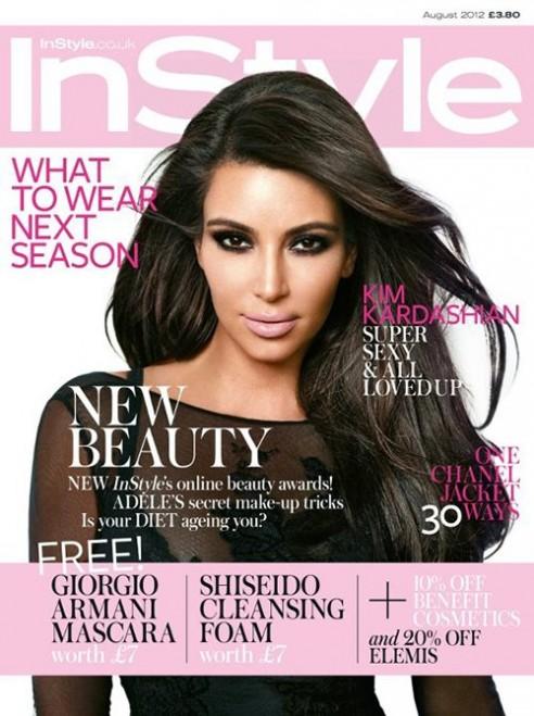 Style Magazine Kim Kardashian Kim Kardashian in Style uk