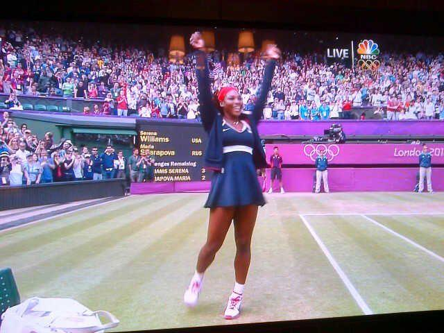 Serena Williams Makes History Wins Olympic Gold And Does Crip Walk