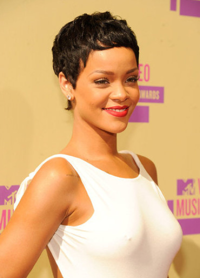 Rihanna Short Hair