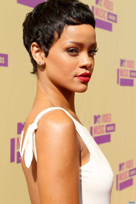 Rihanna Pixie Cut 2012 Rihanna Short Hair 2012 Mtv Vmas
