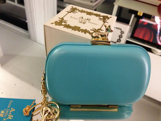 ANNA DELLO RUSSO HM H&M Limited Edition Clutch Purse