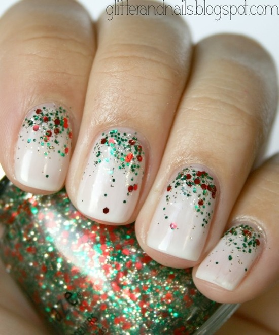 DIY Holiday Nail Art 2012 - Christmas Manicure Ideas | Loren
