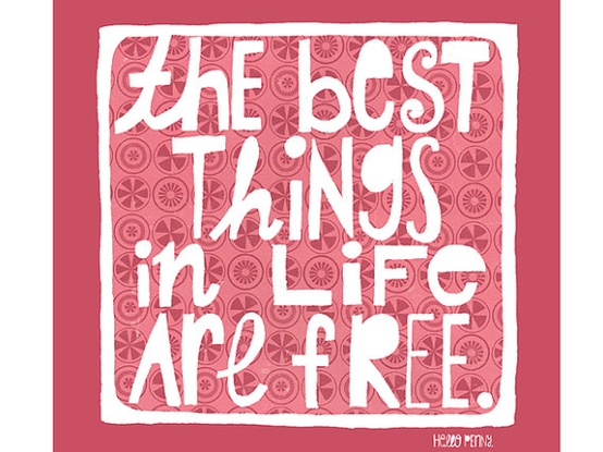 the best things in life are free essay