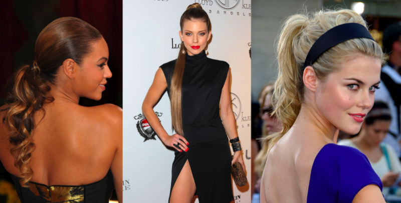 celebrity-ponytails-hair