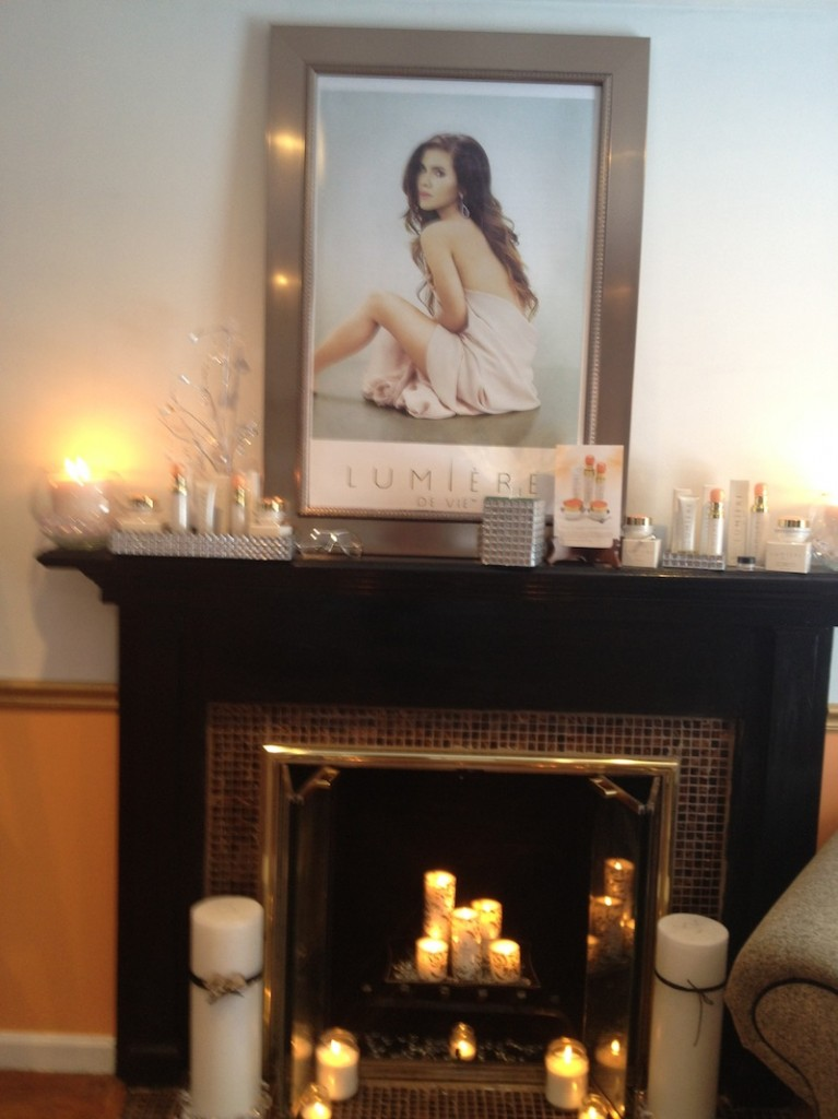 Photos lumi re de vie salon makeover loren 39 s world - Lumiere salon ...