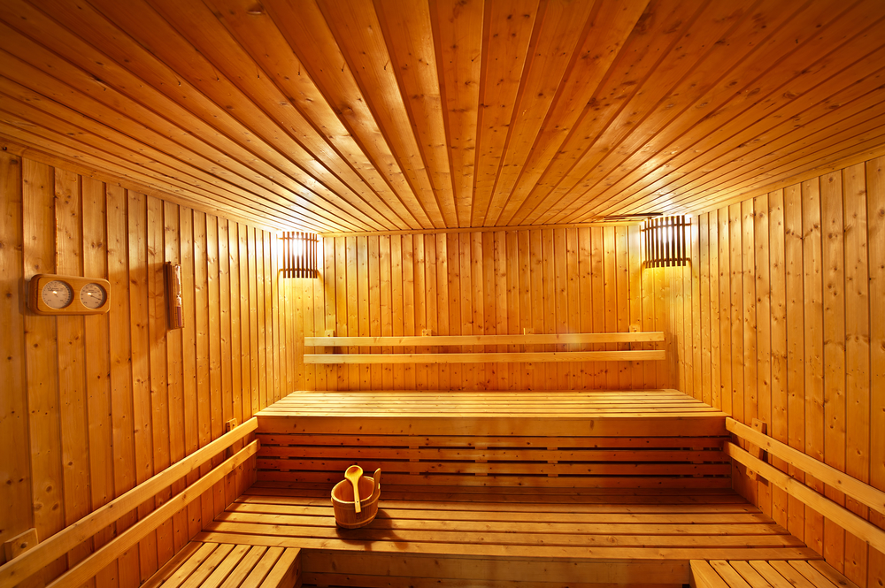 Steam room benefits health