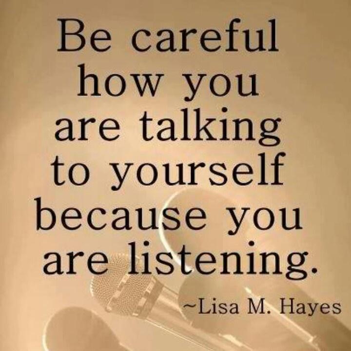 3 Reasons You Should Listen To Negative Self Talk