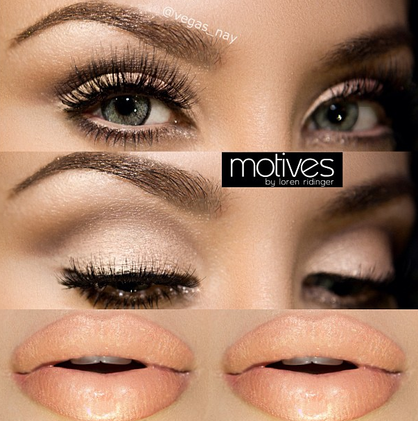 Neutral Glam Makeup Tutorial With Vegasnay And Motives Cosmetics
