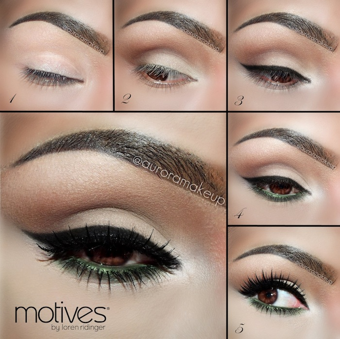 pin up makeup tutorial with motives cosmetics loren 39 s world. Black Bedroom Furniture Sets. Home Design Ideas