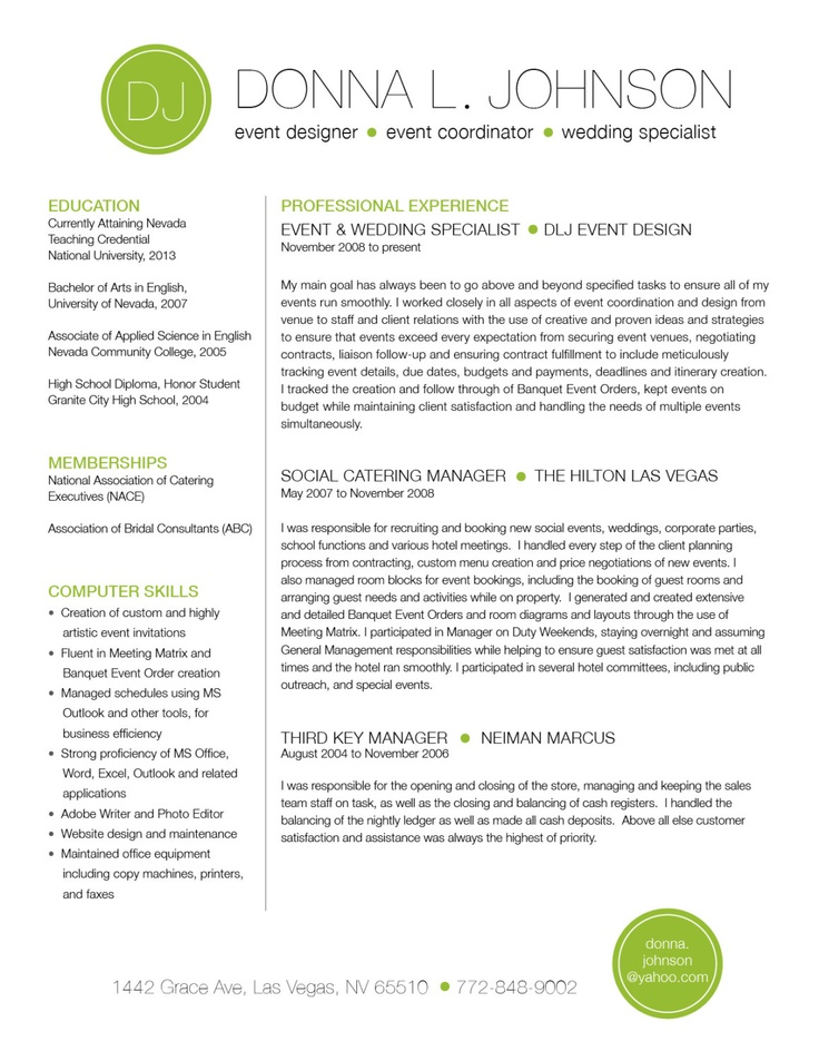 Resume Template  New Resume Templates
