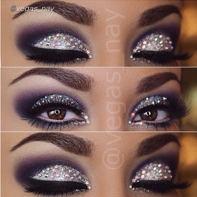 Festive Beauty 6 Glitter Eye Makeup Ideas For New Years Eve