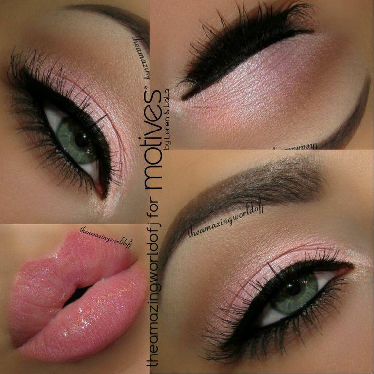 Simple Pink Valentines Makeup