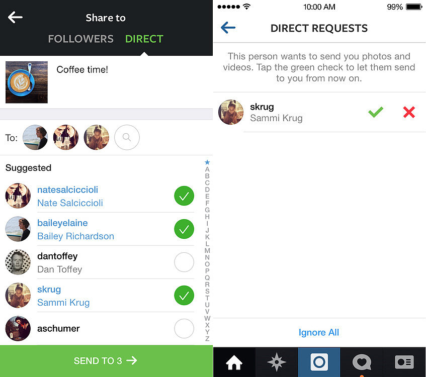 If you send a message to a celebrity on Instagram does it ...