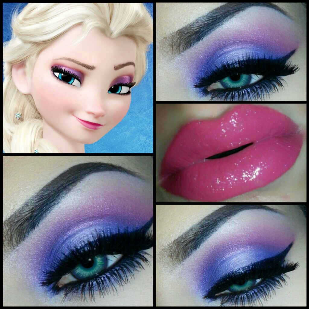 Disney-frozen-elsa-makeup