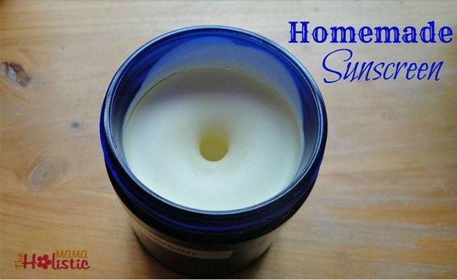 Basic Homemade Sunscreen   Loren's World