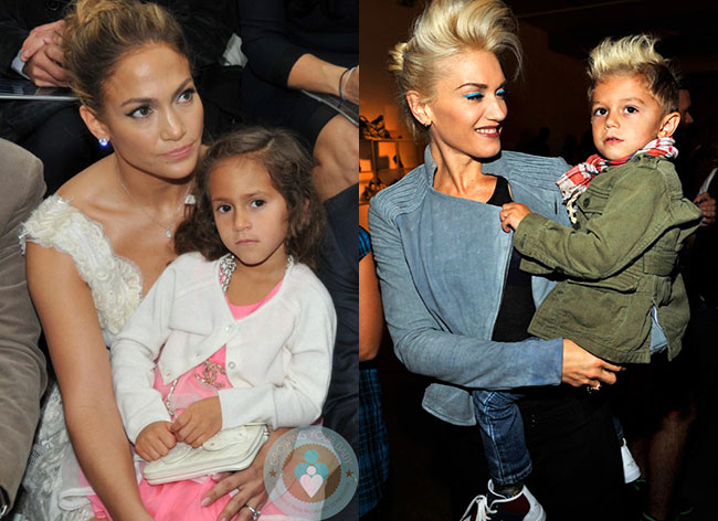 Stylish Celebrity Kids: Emme and Kingston