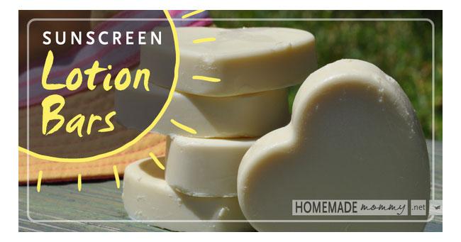 Homemade Sunscreen Bars  Loren's World