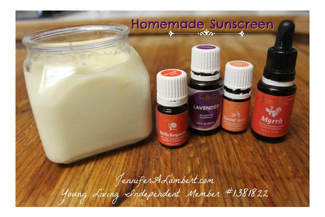 Homemade Sunscreen with Essential Oils   Loren's World