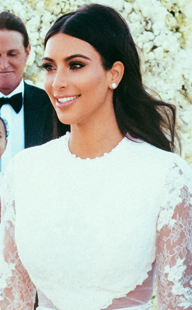 Kim Kardashian S Wedding Day Lip Color Loren World