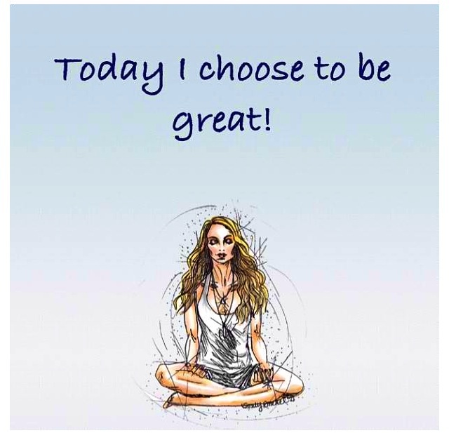 Today I choose to be great - Gabrielle Bernstein