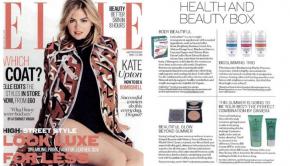 Motives Pressed Bronzer Featured in Elle UK September 2014 Issue