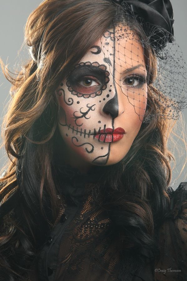 Lorens World Lorens World latest beauty trends - Cool Halloween Makeup For Girls