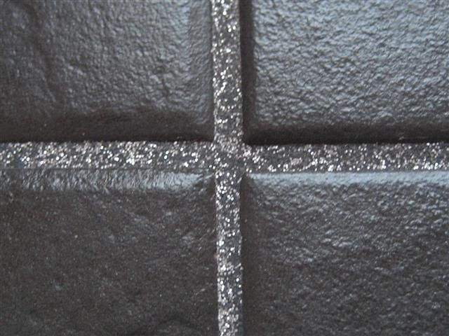 Or Simply Add Some Glitter To Your Grout