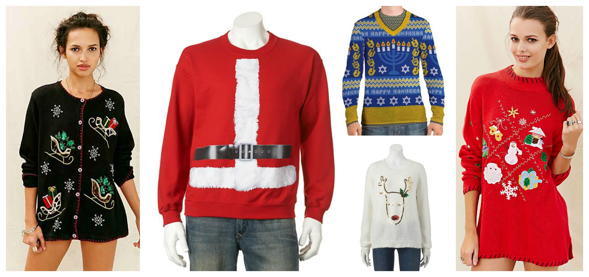 Where To Buy Your Ugly Christmas Sweaters