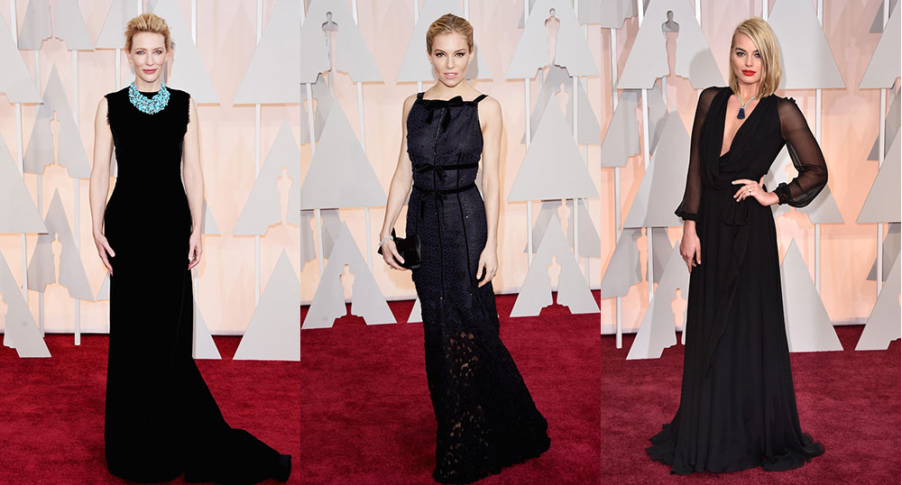 Red carpet fashion the 2015 academy awards aspire canada - Black and white red carpet dresses ...