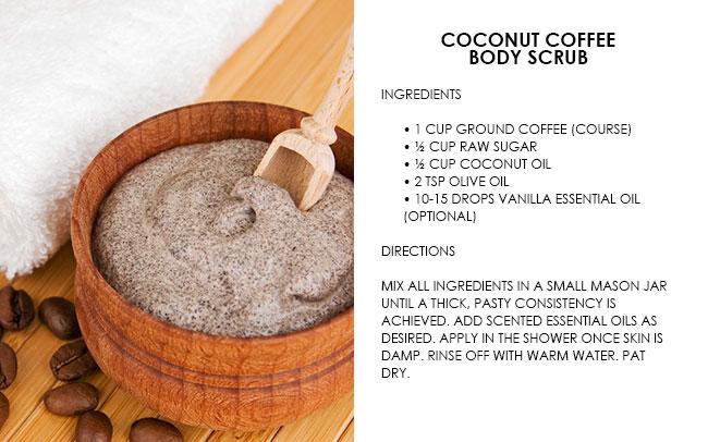 Easy DIY Coffee Body Scrub Recipes