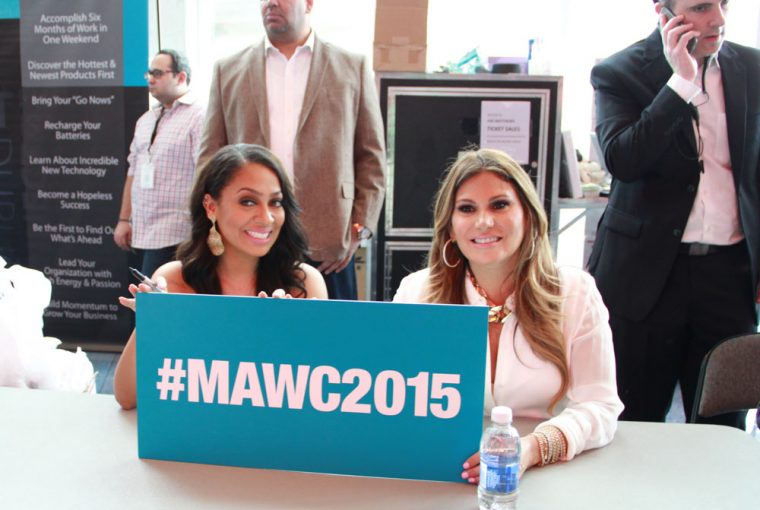 Loren and La La at MAWC 2015