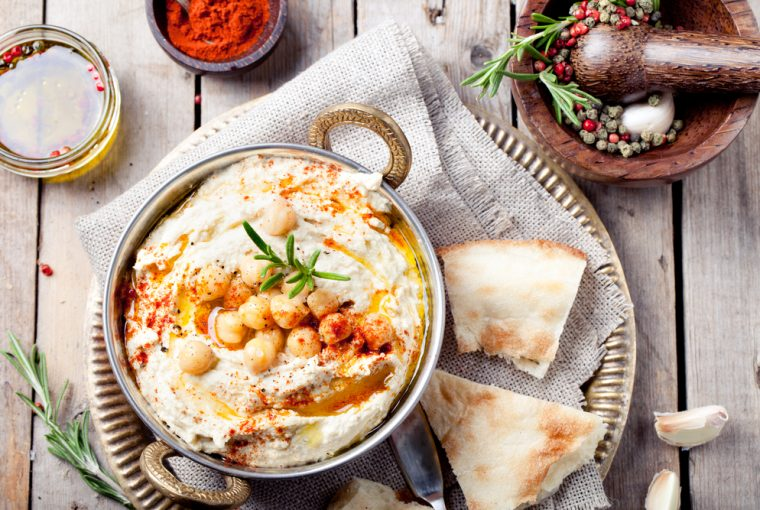 Hummus - Healthy Snacks to Help You Keep Your Resolutions