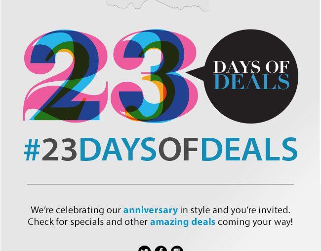 23 Days of Deals on SHOP.COM #23DaysofDeals