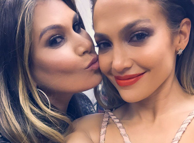 JLo Jennifer Lopez and Loren Ridinger