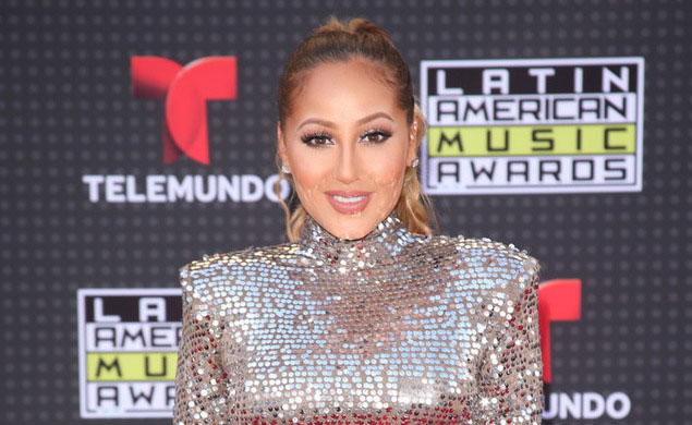 Loren's World Talks to Adrienne Bailon on the Red Carpet at the Latin American Music Awards