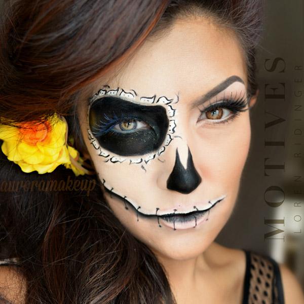 glam halloween makeup inspiration