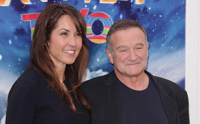 Susan Williams and Robin Williams