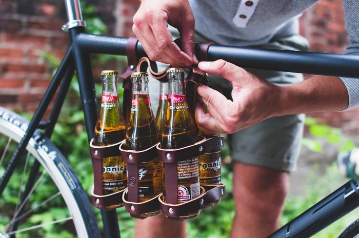 leather six pack carrier