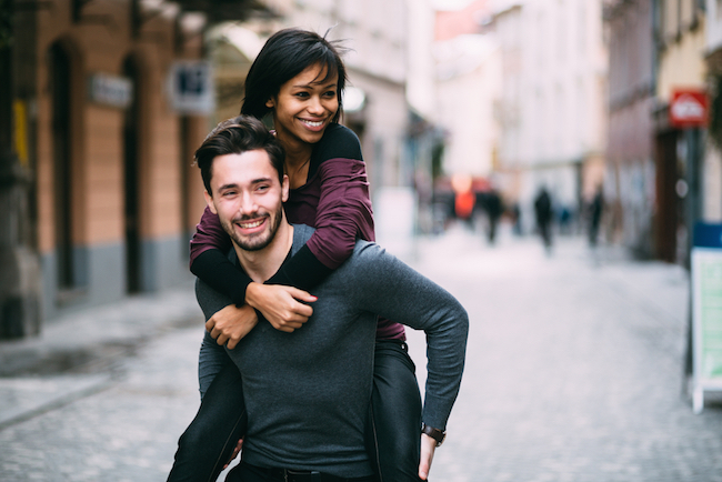 Interracial dating trends