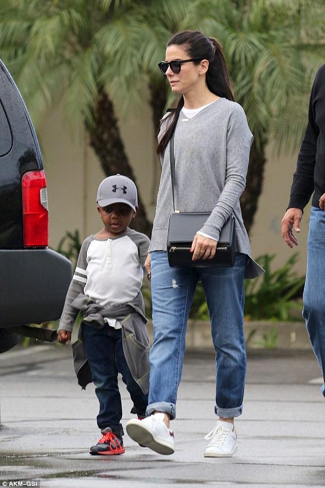 Sandra Bullock Adopts ...