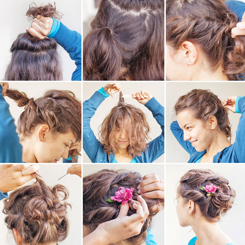 2 Romantic Hair Tutorials