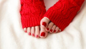 winter pedicure tips