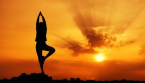 woman, yoga, centered woman, woman at peace