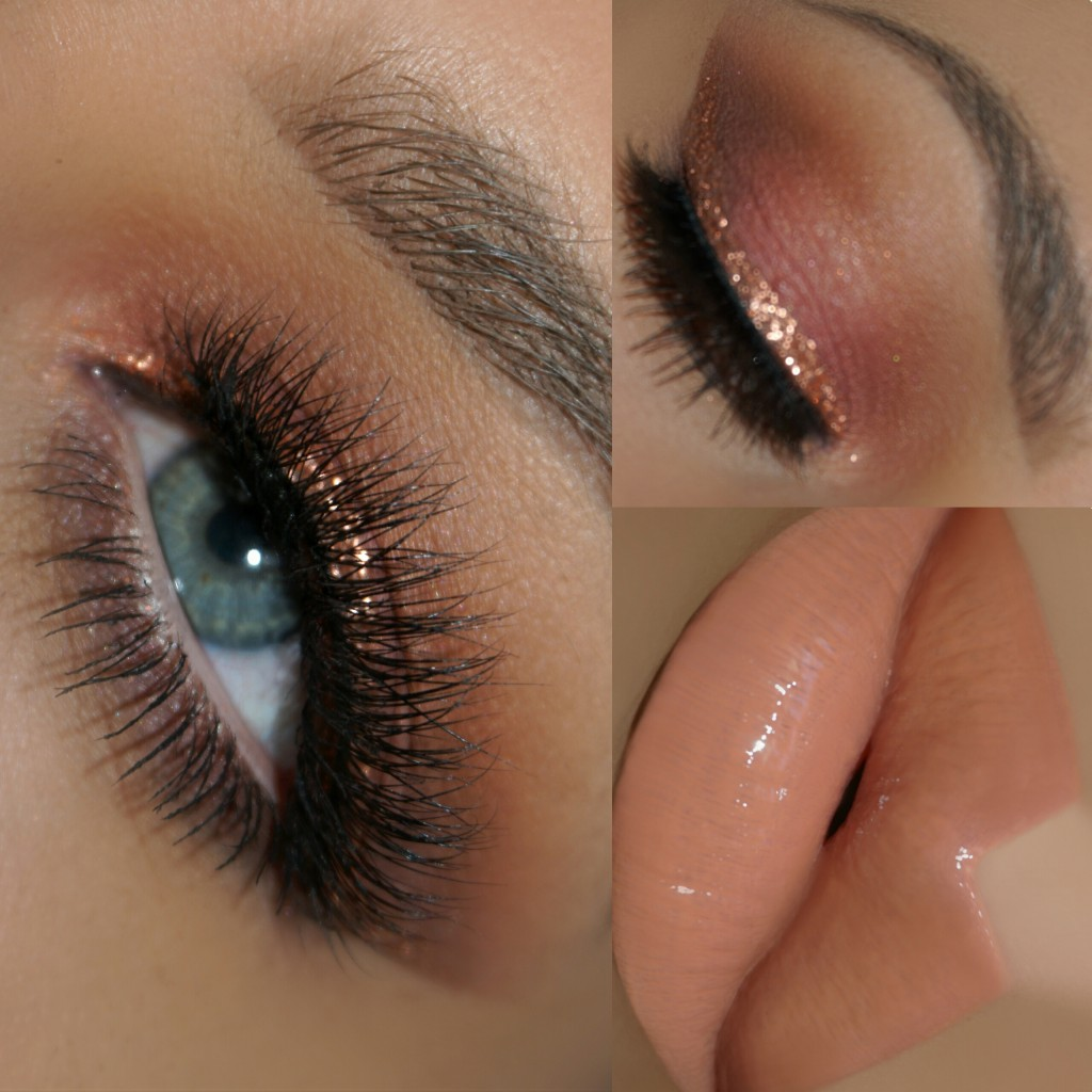 Motives Rose Gold Eye Shadow Tutorial | Loren's World