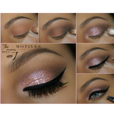 Morganite Gem Sparkles Makeup Tutorial