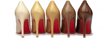 """Christian Louboutin Redefines """"Nude"""" 