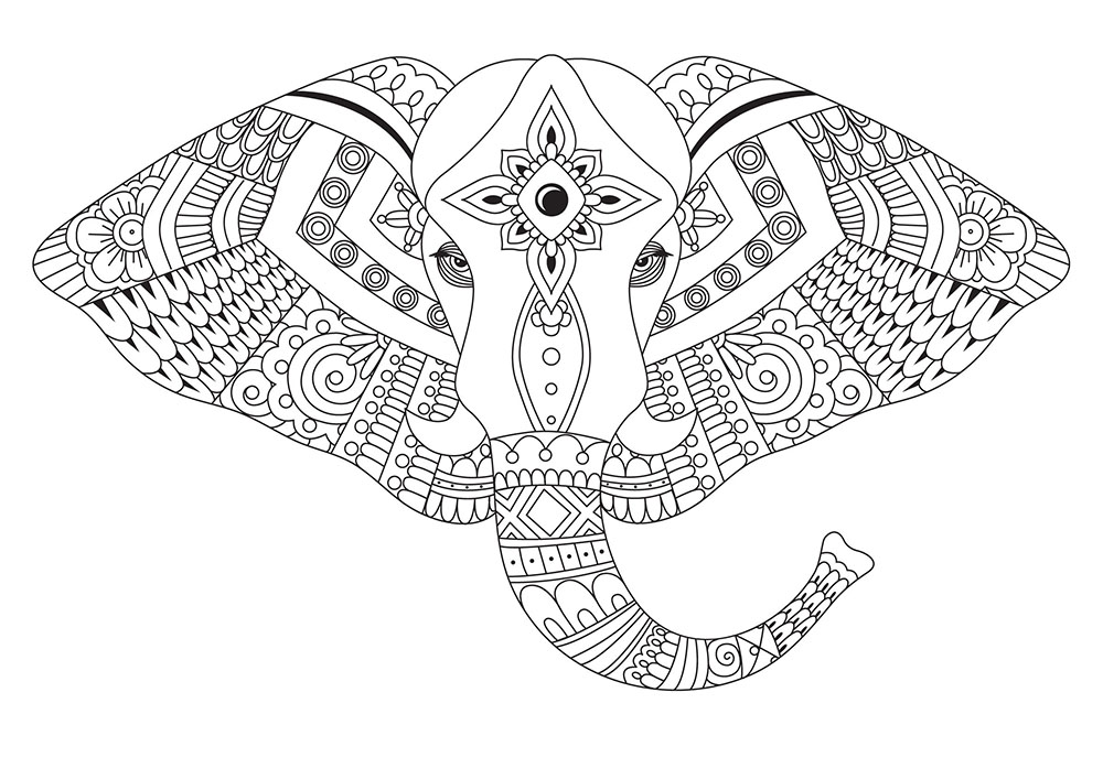 7 hobbies that provide major stress relief loren 39 s world for Stress relief coloring pages online