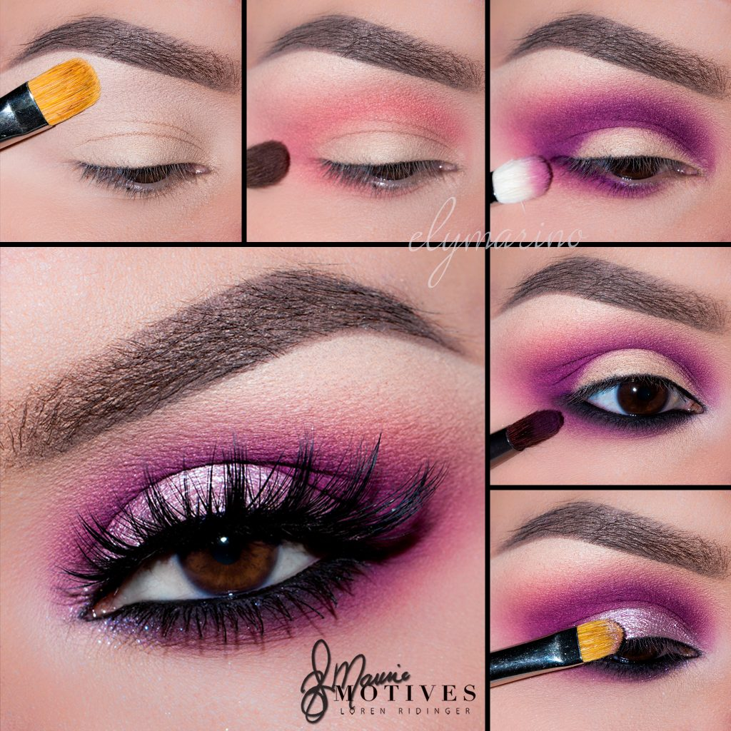Get the Look: Bold Pink Eyeshadow Tutorial | My Fashion Cents