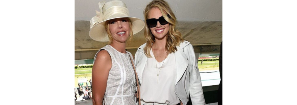kate upton, kate, kentucky derby, get the look,
